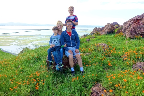 Coyote Hills Regional Park Amid the poppies