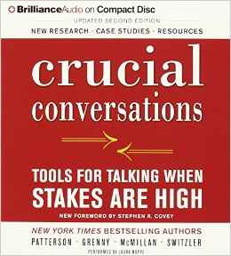 Crucial Conversations Audio Book