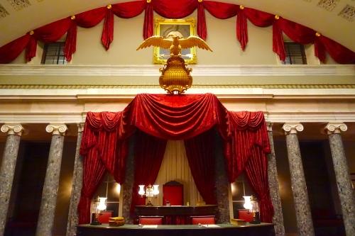 Inside the Capitol Building Washington D.C.