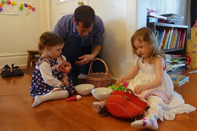 Opening Easter Eggs