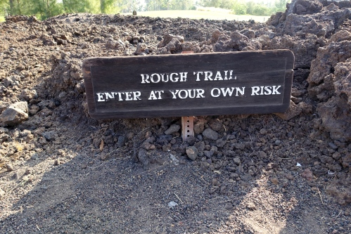 Rough Trail Sign