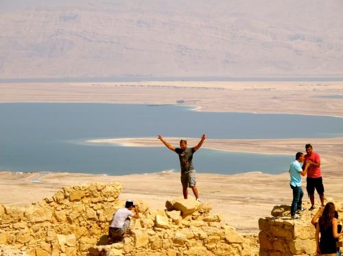 Standing. Masada