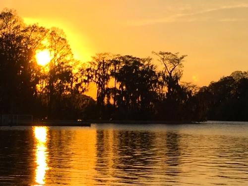 Sunset on Bay Lake