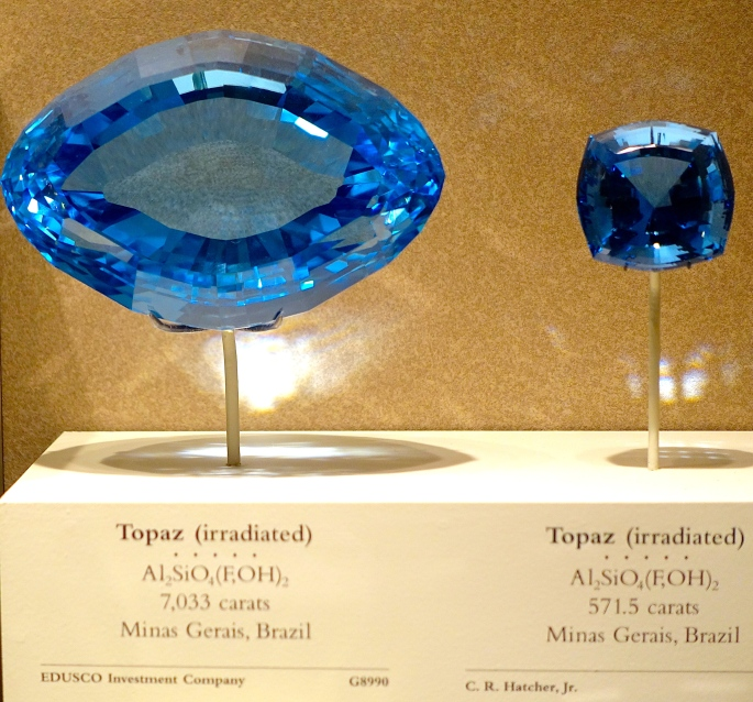 Topaz National Natural History Museum. Washington D.C.