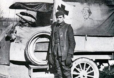 Walt Disney after WW 1 as ambulance driver Wiki