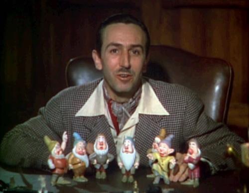 Walt Disney introducing 7 Dwarfs Wiki