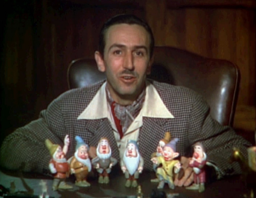 Walt Disney introducing 7 Dwarfs Wiki