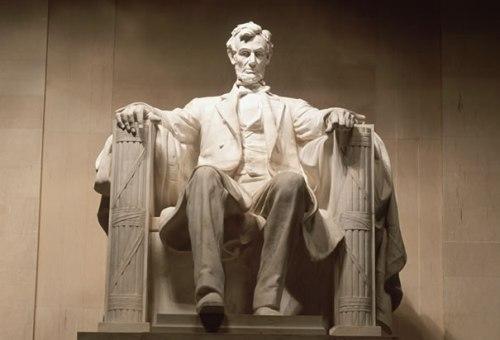 Abraham Lincoln Memorial.Washington DC