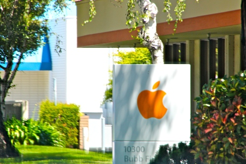 Apple Corp. Offices on Bubb Road. Silicon Valley