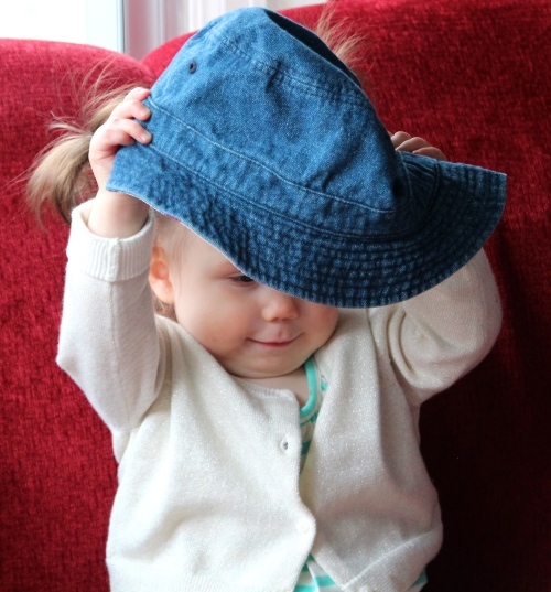 Baby with a Hat 1