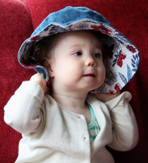 Baby with a Hat 3