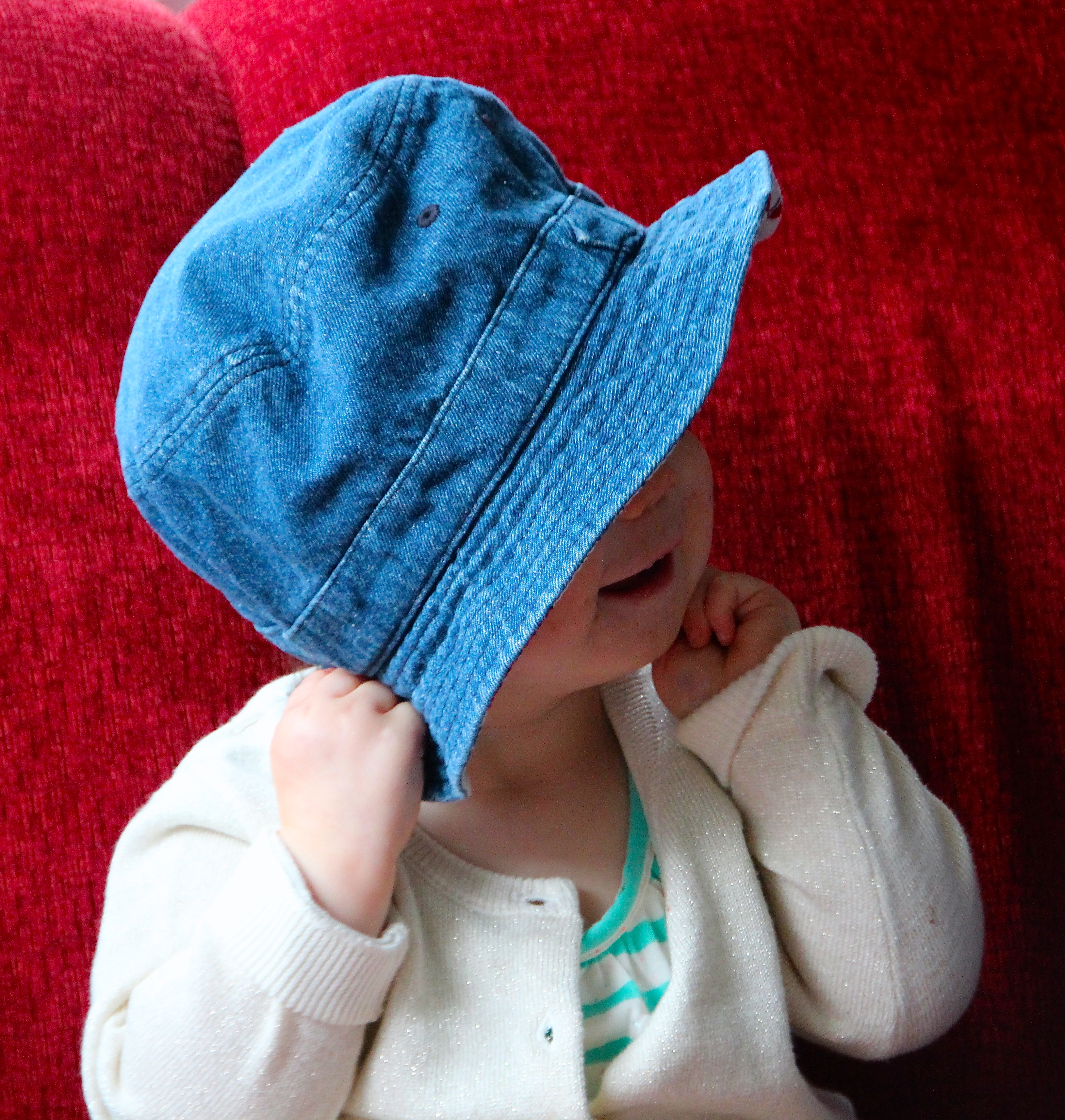Baby with a Hat 4