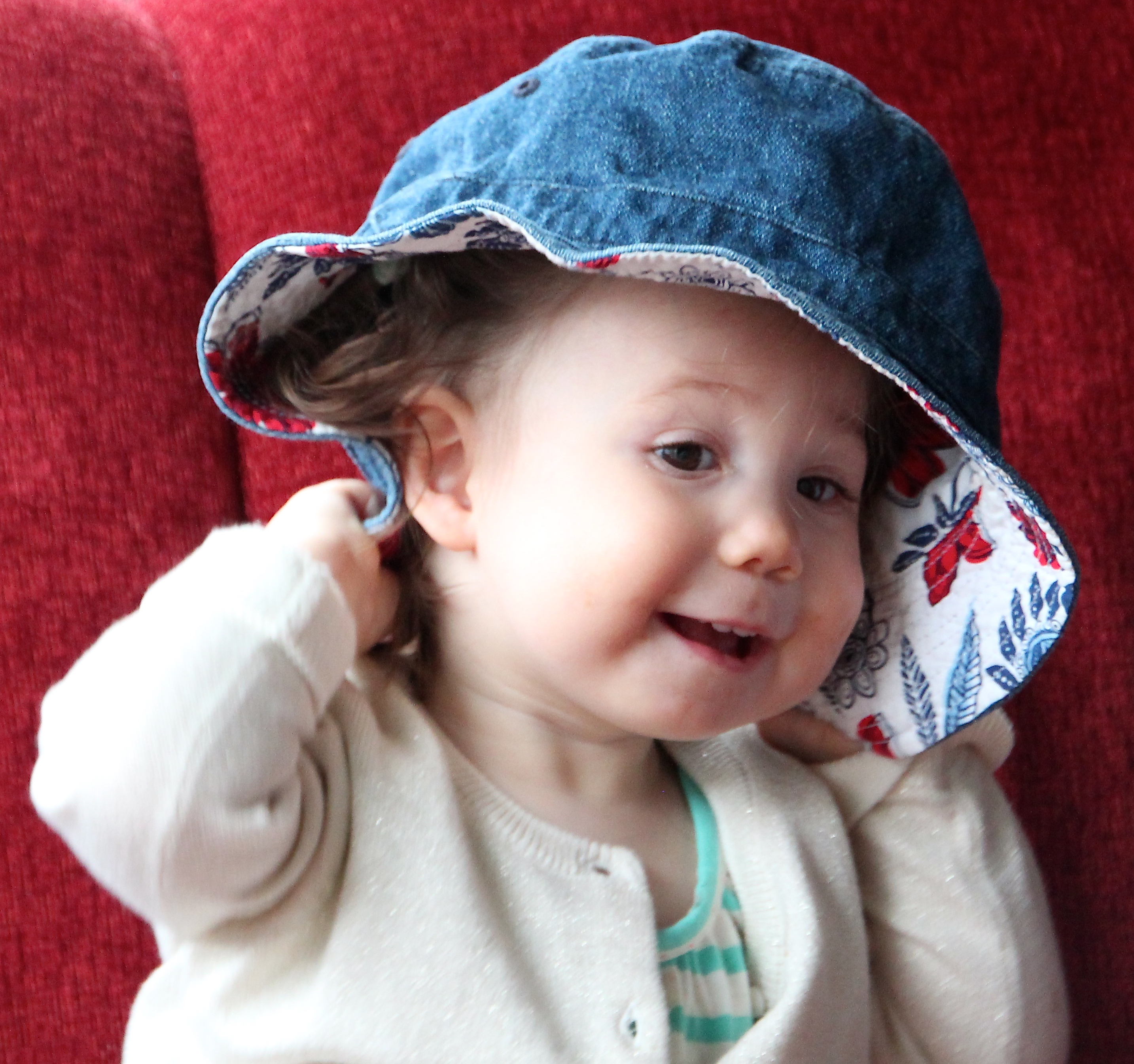 Baby with a Hat 5
