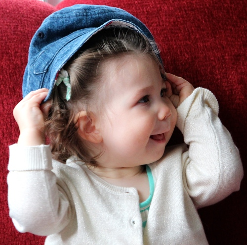 Baby with a Hat 6
