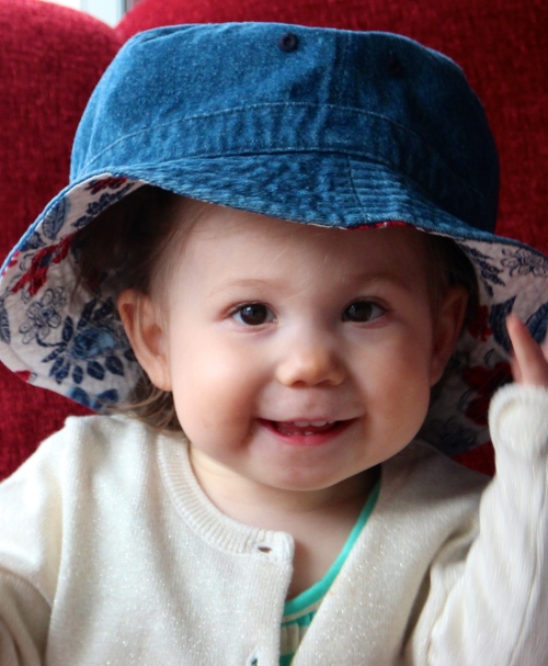 Baby with a Hat 7
