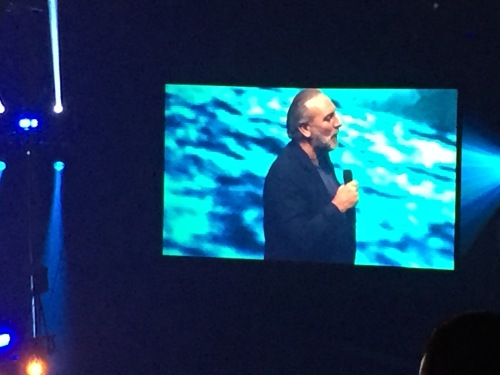 Brian Houston preaching at Outcry in GR
