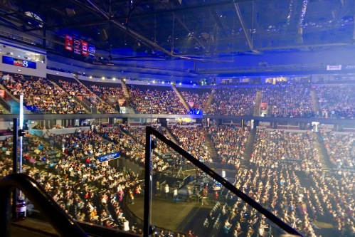 Capacity Crowd at Van Andel for Hillsong Outcry