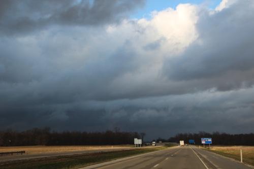Freak spring storm 2