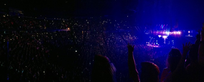 Hillsong Outcry. Van Andel Arena