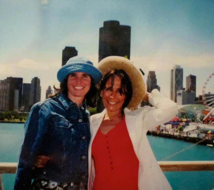 Kathi and Liz in Chicago