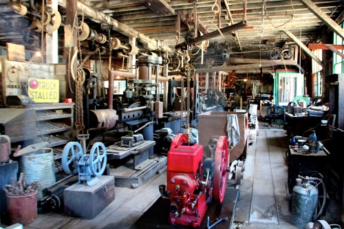 Machine Shop at Empire Mine CA