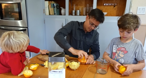 Making juice for lemonade