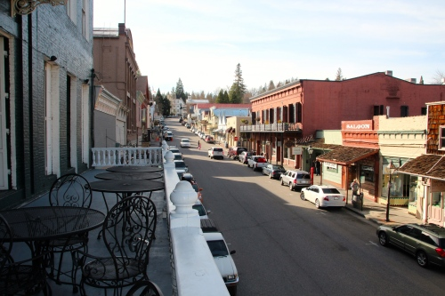 Nevada City Main Street