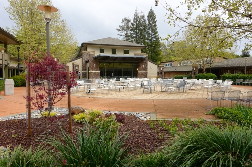 Outdoor gathering area Rossmoor, CA