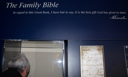 Quote of value of Bible by Abraham Lincoln. Abraham Lincoln Birthplace National Historical Park