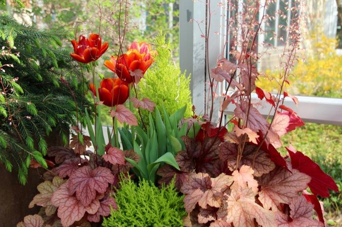 Spring Flower Arrangement Meijer Garden 4.23.16