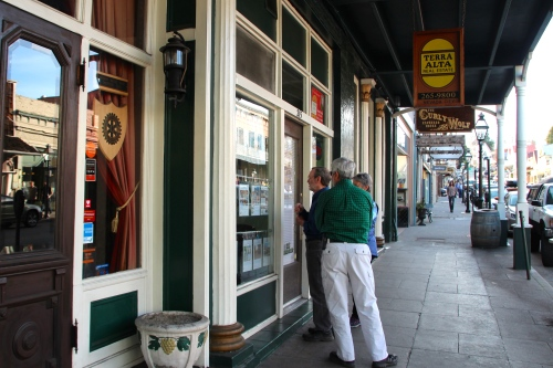 Window Shopping in Nevada City