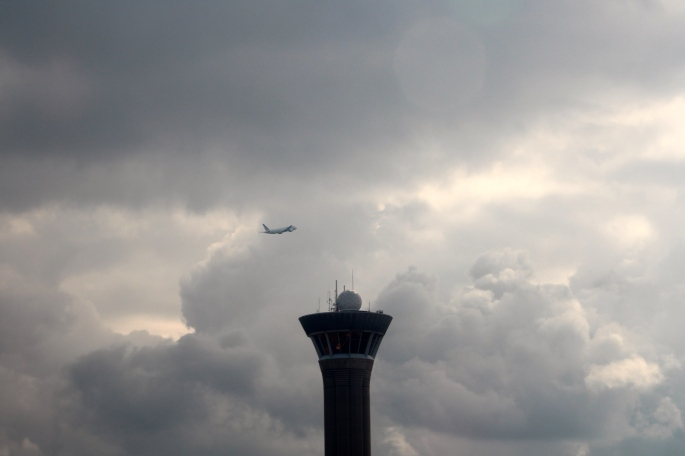 Air Traffic Control Tower at Charles de Gaulle Airport 05.19.16