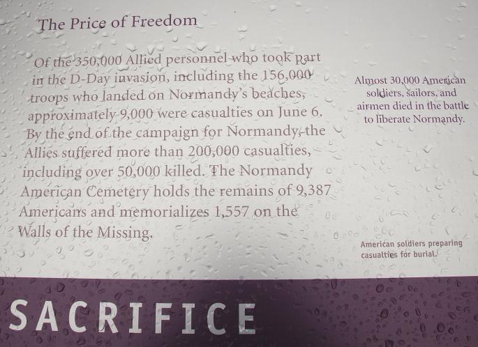 American Cemetery. Cimetière Américain de Colleville-sur-mer 5
