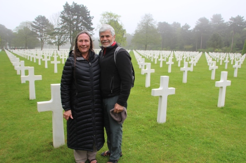 American Cemetery for those killed during D-Day in Normandy