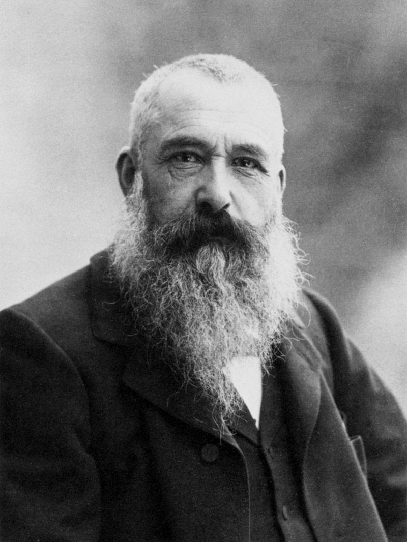 Claude Monet. Wiki public domain