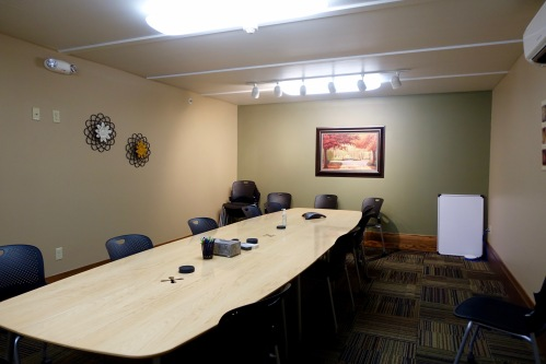 Conference Room Table at David's House Ministries