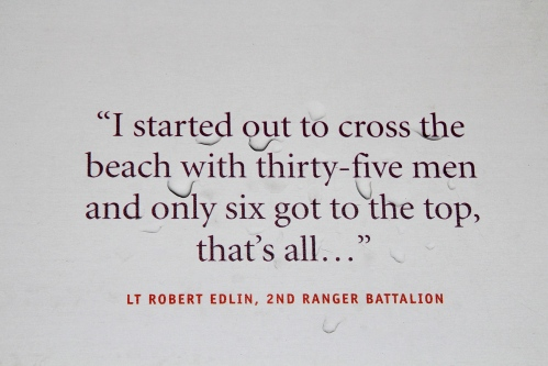 D-Day Quote by Ranger