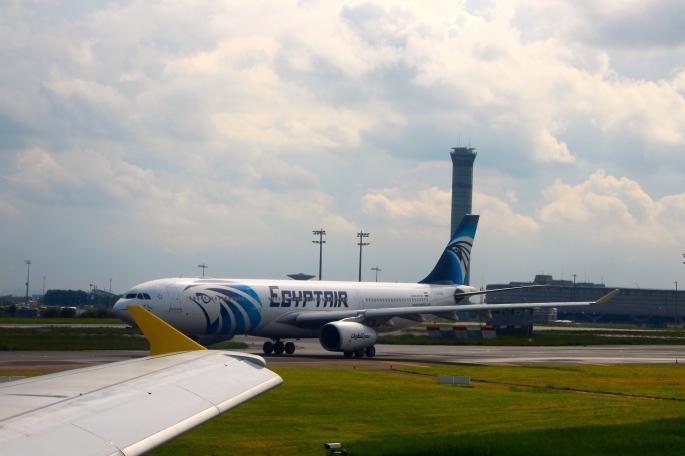 EgyptAir flight leaving CDG airport May 19 2016