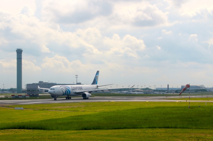 EgyptAir Flight leaving Charles de Gaulle Airport on 05.19.16