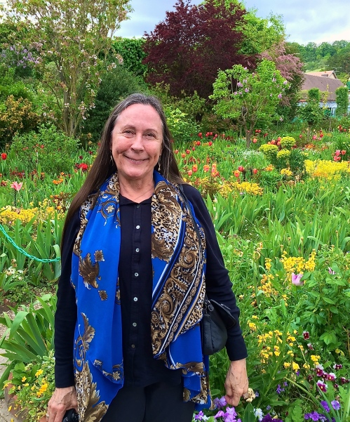 Kathi at Giverny