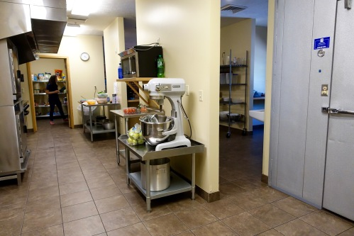 Kitchen at David's House Ministries