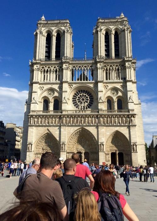 Notre Dam Cathedral. Paris 5.8.16