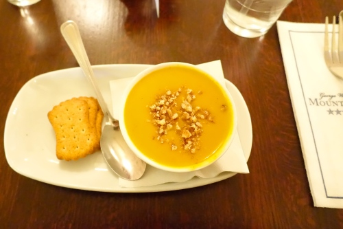 Peanut and Chestnut Soup Mt. Vernon