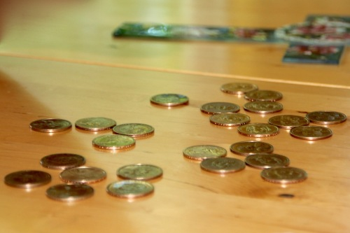 25 Dollar coins