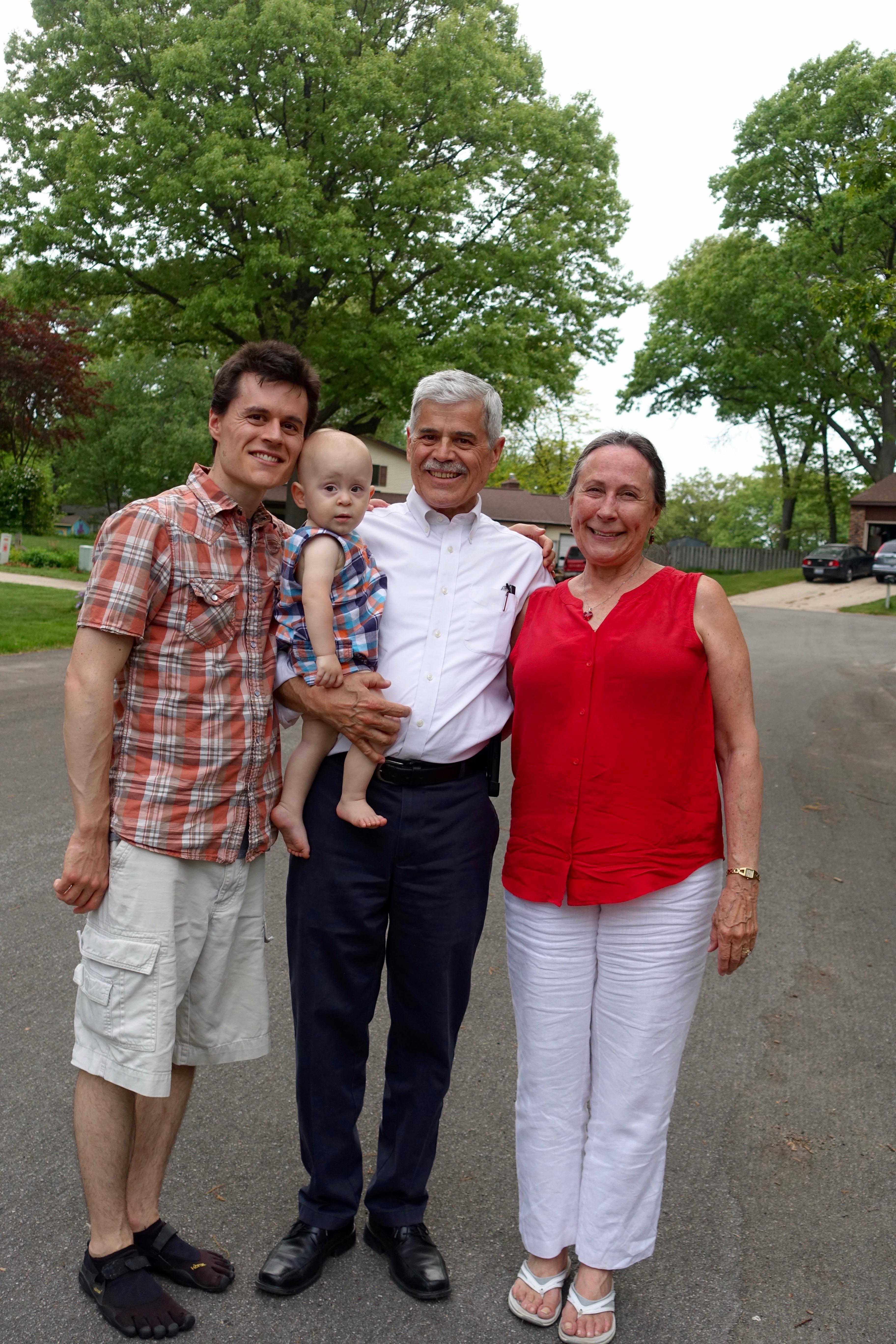 Alan, Daniel, and I