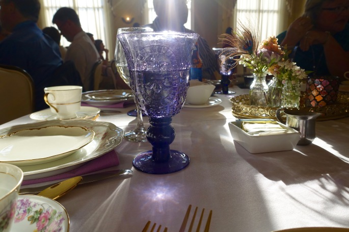 Beautiful Table setting for wedding dinner