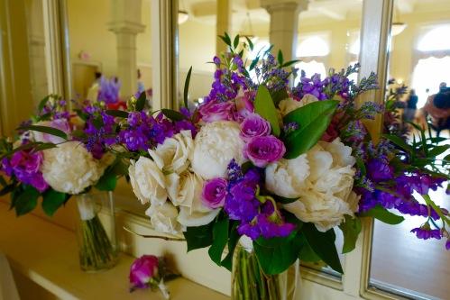Bridal Flowers at Jen's Wedding