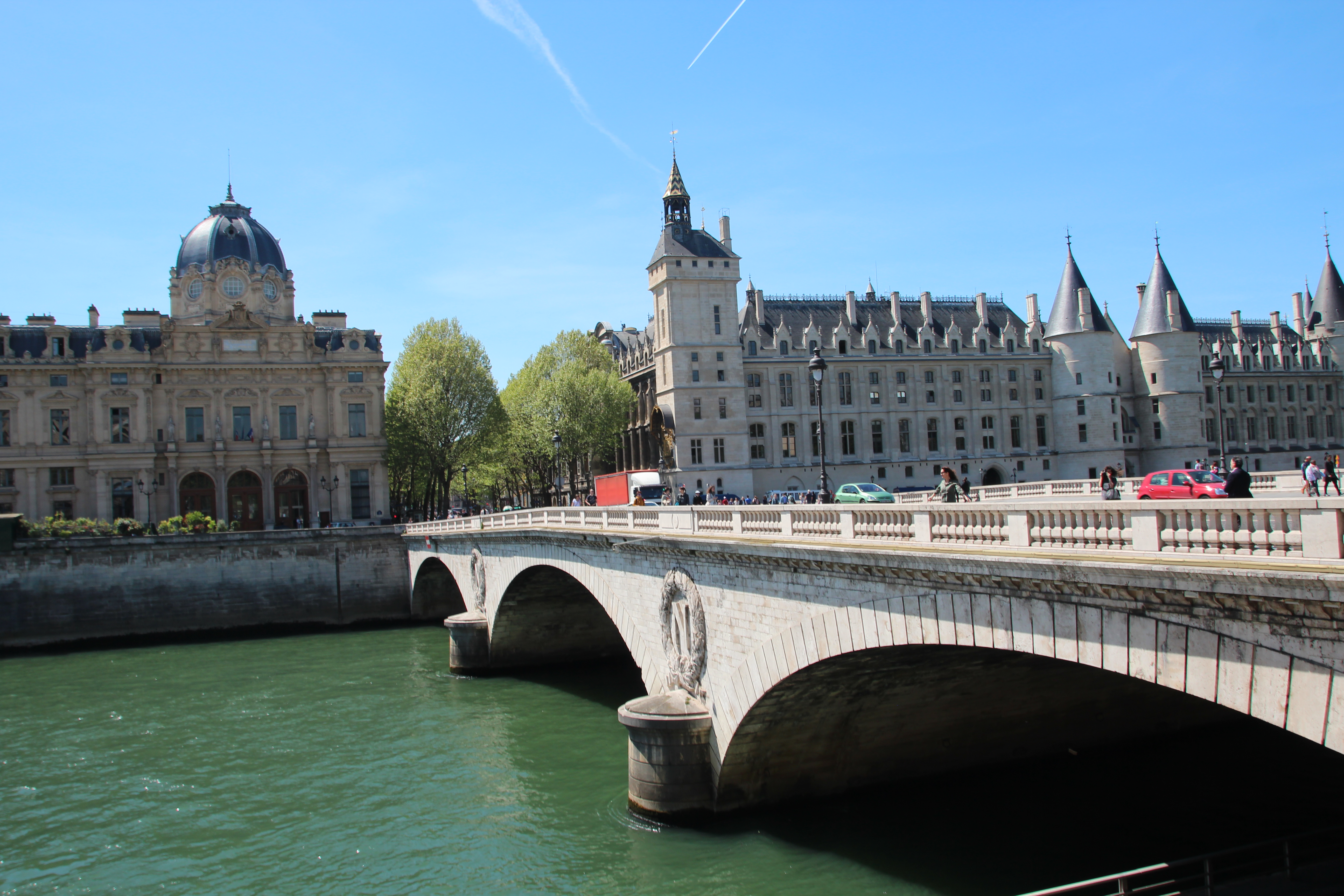 Bridge across The Seine River