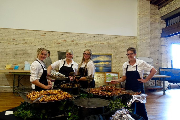 Caterers at ArtFeast