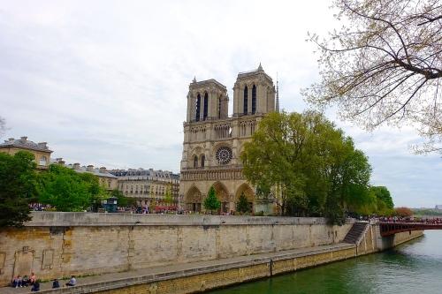 """Cathédrale Notre-Dame de Paris (""""Our Lady of Paris"""") on the the Île de la Cité in Paris"""